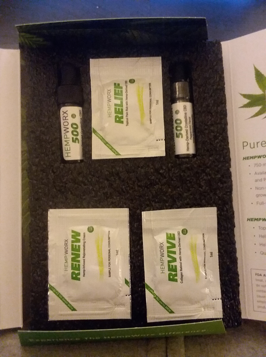 HempWorx CBD Sampler Pack: My Thoughts